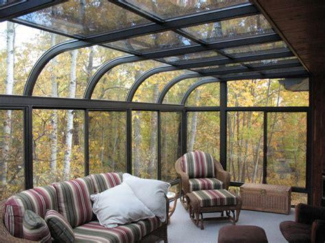 curve  seasons sunroom living room contemporary