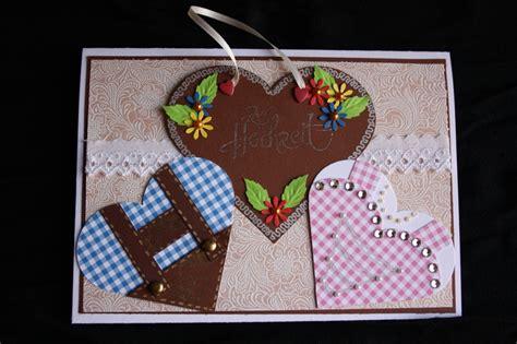 bayrische hochzeit basteln mit papier karten karte