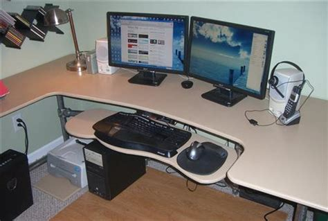 how to make your own desk build your own custom ergonomic desk