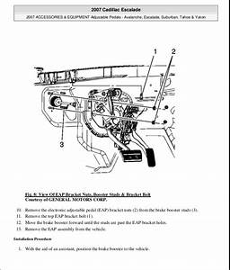Circuit Electric For Guide  2007 Cadillac Escalade Wiring