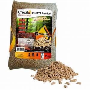 Pellets De Bois : granul s de bois cr pito palette de 72 sacs 1080kg ~ Nature-et-papiers.com Idées de Décoration