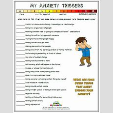My Anxiety Triggers