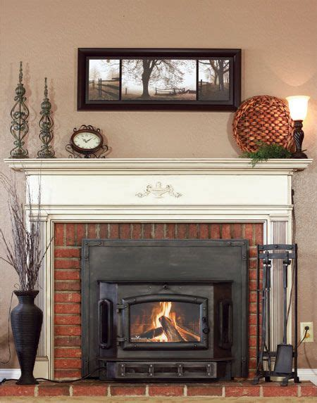 turn wood fireplace into gas 25 best ideas about fireplace inserts on gas
