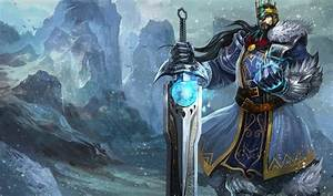 King Tryndamere Skin - Chinese - League of Legends Wallpapers