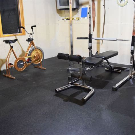 Home Gym Flooring   Rubber Or Foam