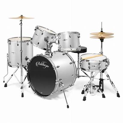 Drum Kit Percussion Cymbals Remo Adult Piece