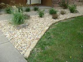 types of home interior design landscaping ideas with mulch and rocks edging for