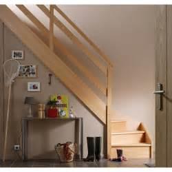 Escalier Un Quart Tournant Gauche escalier quart tournant bas gauche soft wood structure