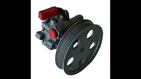 toyota power steering pump full video youtube