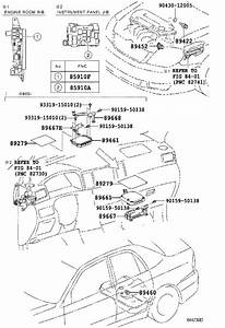 Wiring Diagram  30 2003 Toyota Corolla Parts Diagram
