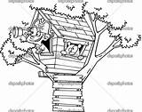 Tree Coloring Magic Pages Piano sketch template
