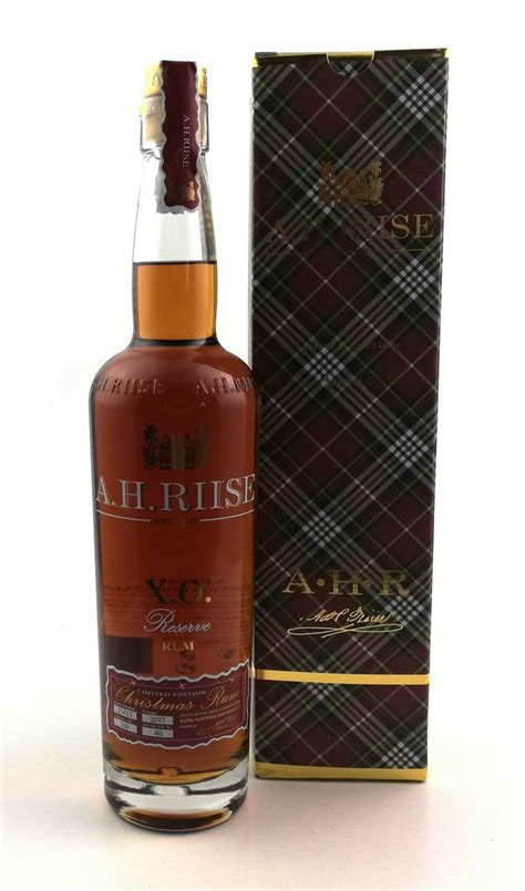 ah riise xo christmas rum limited edition riise rum kaufen
