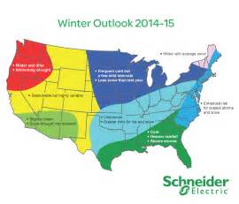 Winter Weather Outlook Map