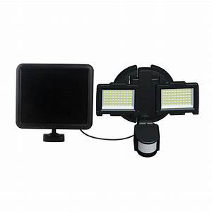 Nature Power 120 Led Outdoor Solar Motion Sensor Security