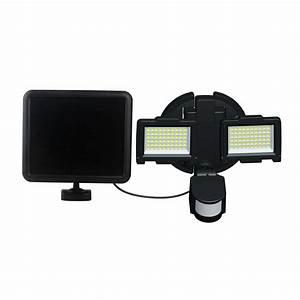 Nature Power Black Solar Motion Sensor 120