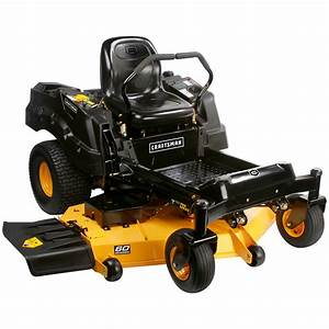 Craftsman Proseries 27054 60 U0026quot  25 Hp V