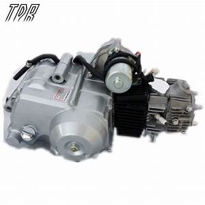 Tdr Motorcycle Parts Professionalsemi Auto Atv 125cc Motor
