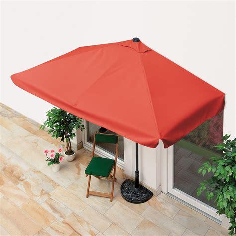 Eckiger Sonnenschirm Für Balkon balkon sonnenschirm eckig terracotta kaufen bei