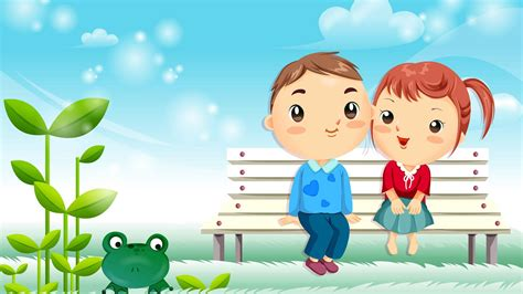 cartoon love couple wallpapers group   items