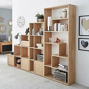 Bibliothèque Avec Porte : meubles living meubles tag res et biblioth ques de salon alin a ~ Teatrodelosmanantiales.com Idées de Décoration