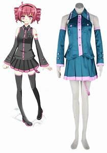 Vocaloid Kasane Teto Cosplay Costume