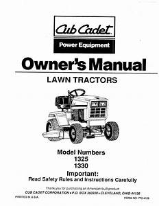 Cub Cadet Mower Deck Parts Diagram