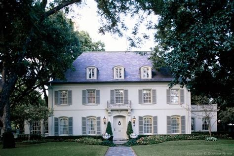 House With White Shutters by White House With Gray Shutters From The Outside Looking