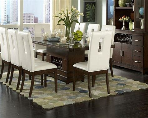 top  dark brown wood dining tables dining room ideas