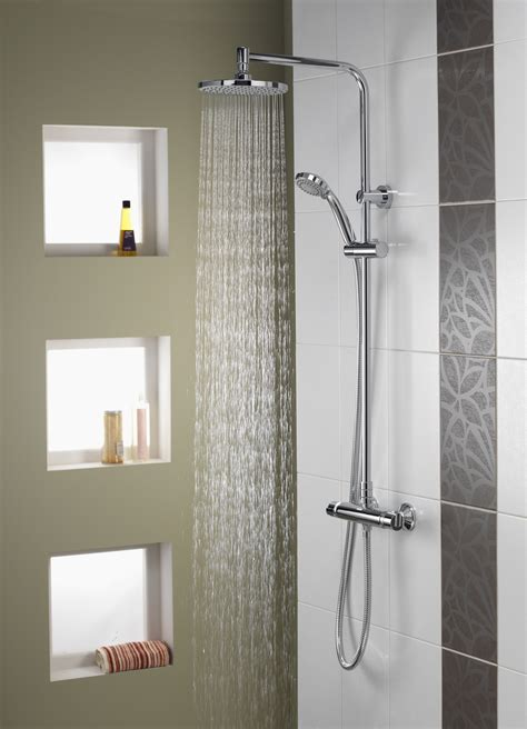 and in shower aqualisa dsi kitchens bathrooms