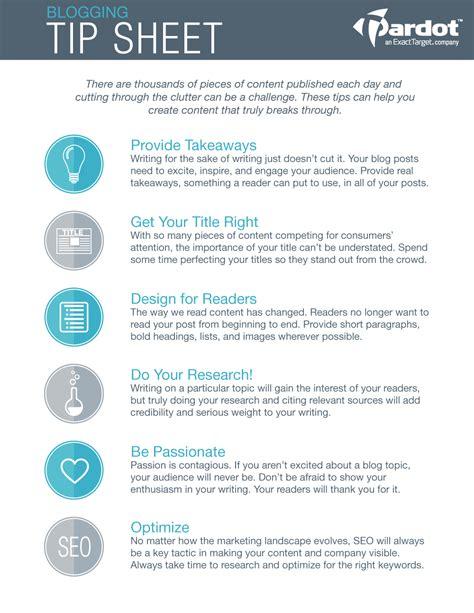 tip sheet template 6 tips for a breakthrough post tip sheet salesforce pardot
