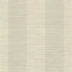 Brewster Jayde Taupe Faux Grasscloth Wallpaper