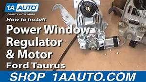 How To Replace Window Regulator 96-07 Ford Taurus