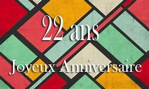 Cadeau Homme 22 Ans : carte anniversaire homme 22 ans georetro color ~ Teatrodelosmanantiales.com Idées de Décoration