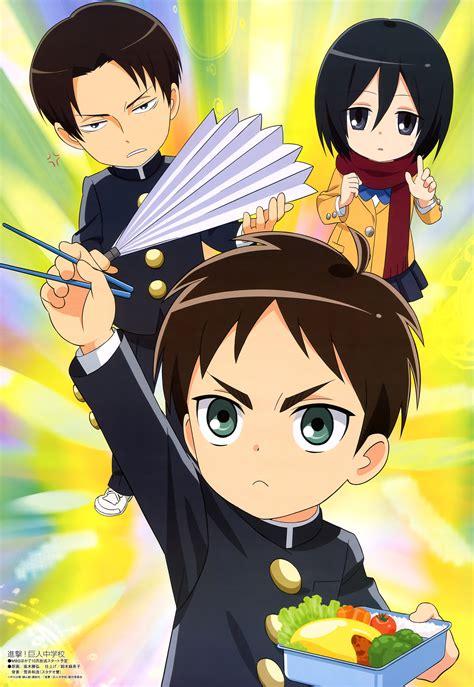 shingeki kyojin chuugakkou attack  titan junior high