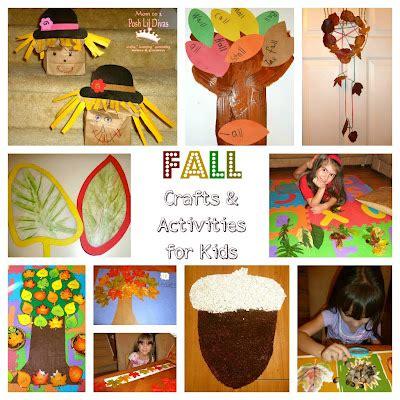 autumn activities  kids autumn crafts picture