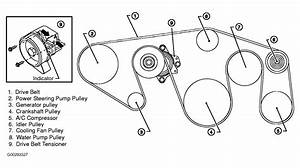 2004 Nissan Armada Serpentine Belt Routing And Timing Belt