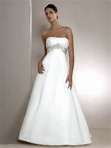 wedding dresses With simple a line wedding dress