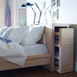 Lit 90 Ikea : tete de lit rangement ikea malm ~ Premium-room.com Idées de Décoration