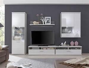 Tv Wand Weiß Hochglanz : wohnwand travis 23 wei hochglanz 5 teilig medienwand tv m bel tv wand wohnbereiche wohnzimmer ~ Indierocktalk.com Haus und Dekorationen