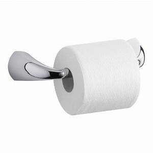Kohler, Alteo, Pivoting, Single, Post, Toilet, Paper, Holder, In, Polished, Chrome-k-37054-cp