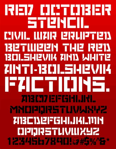 Red October font by Neogrey Creative - FontSpace