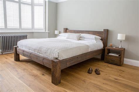 reclaimed rustic wood hudson bed eat sleep