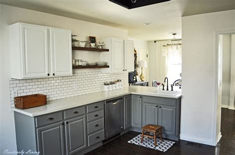 kitchen makeover by creatively living blog