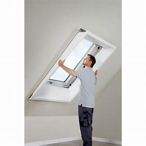 Moustiquaire Pour Fenêtre De Toit : habillage int rieur pour fen tre de toit velux lsb mk04 ~ Dailycaller-alerts.com Idées de Décoration