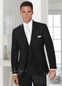 Black Wedding Suits for Groom and Groomsmen