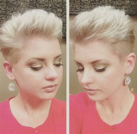 inspirations  pixie haircuts  chubby faces