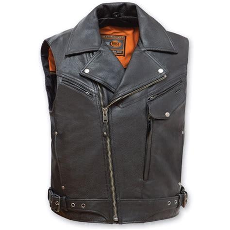 motorcycle jacket vest leather biker jacket motorcycle vest reckless outlaw