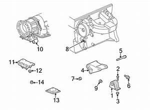 Jeep Wrangler Engine Mount Bolt  2 5 Liter  To Block  4 0