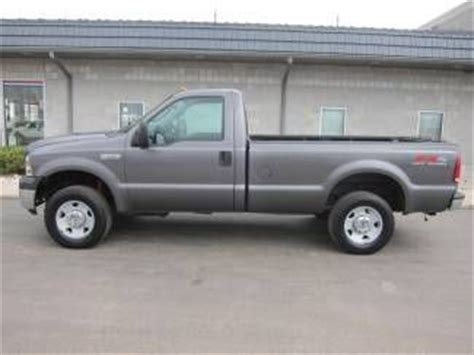 Sell used 2007 FORD F 250 4X4 4 WHEEL DRIVE FX4 REG CAB 8