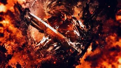 Rising Gear Metal Wallpapers Revengeance Raiden Background
